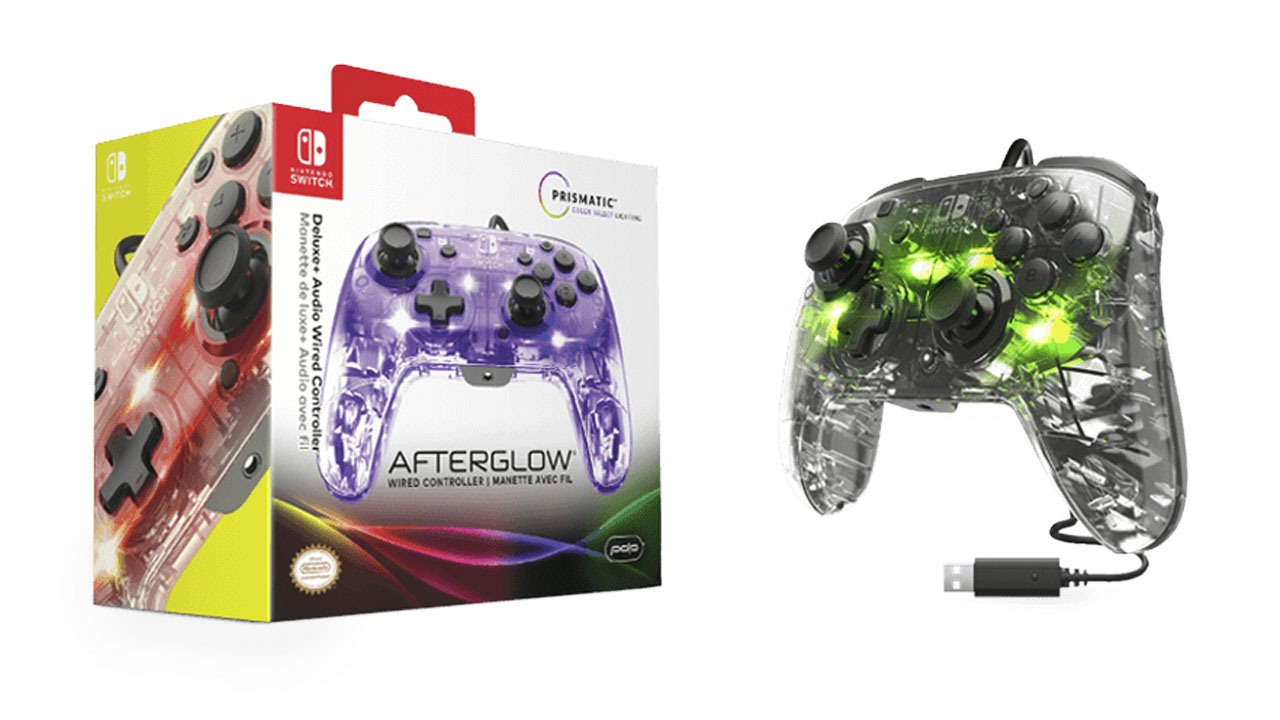 Nintendo Switch Accessories Afterglow Deluxe + Audio Wired