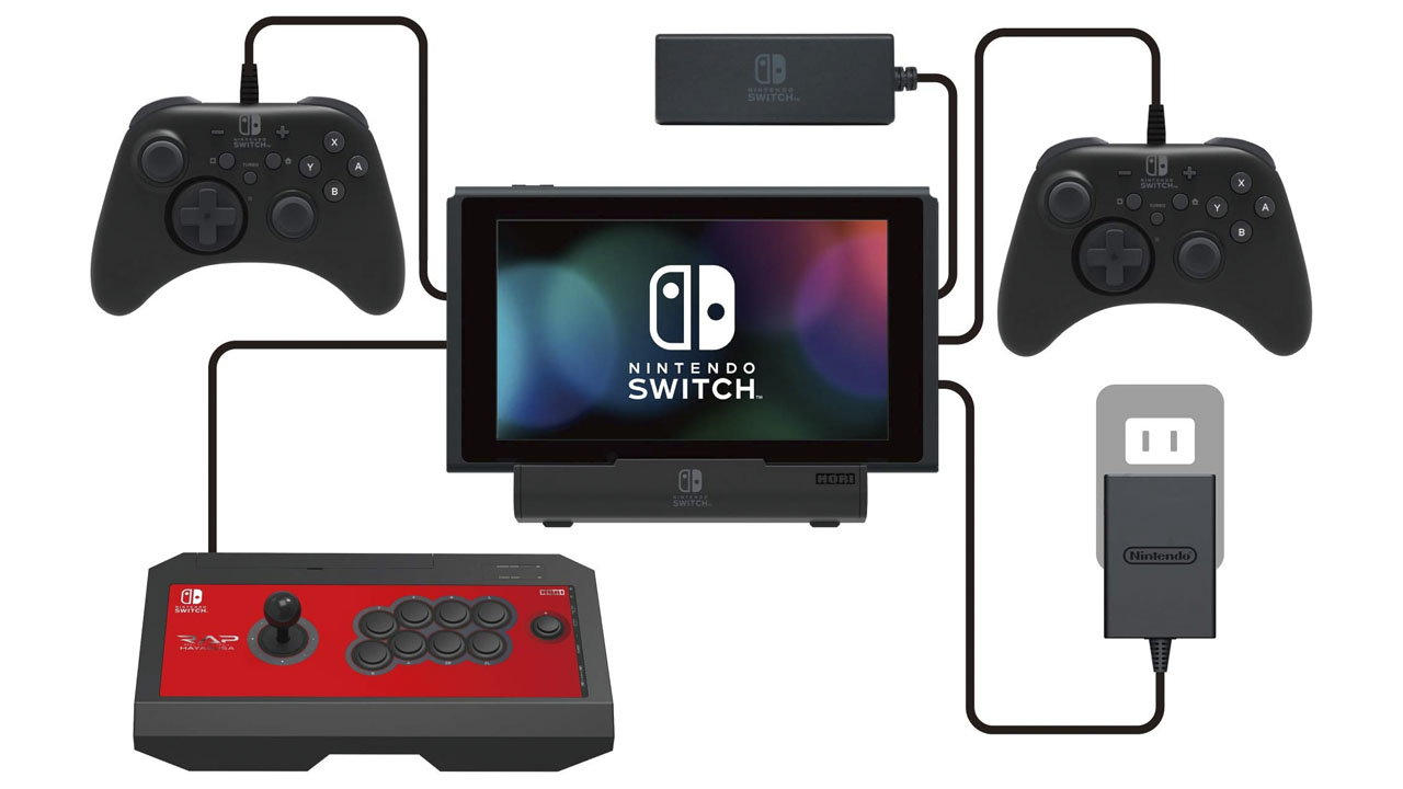 Nintendo Switch Accessories Hori Nintendo Switch Multiport USB Playstand